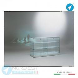 Vetrina banco top vetro e...