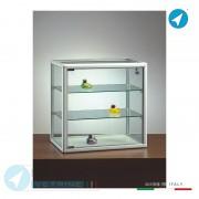 Vetrine da Appoggio Profili Alluminio TOP